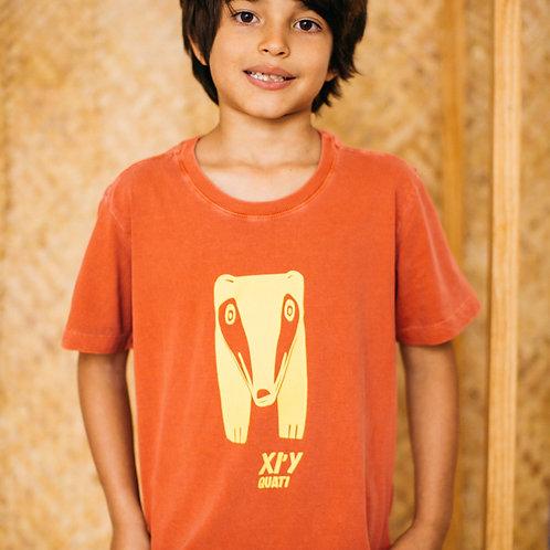 Camiseta XI'I – QUATI para crianças