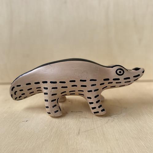 Cerâmica Waurá - jacaré