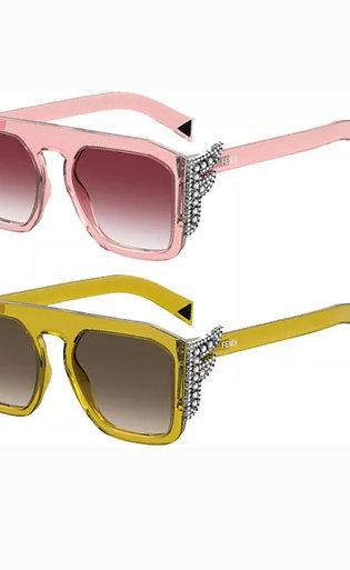Fendi  Crystal Sunglasses