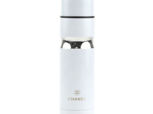 CHANEL WHITE STAINLESS STEEL THERMOS