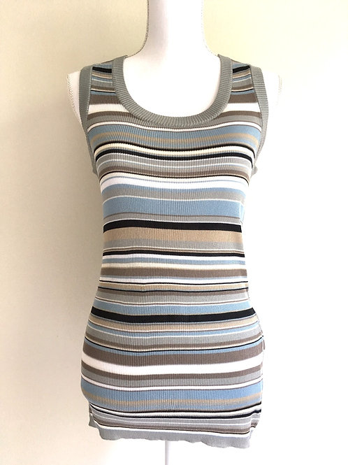 Dolce and Gabbana Striped Sleeveless shirt
