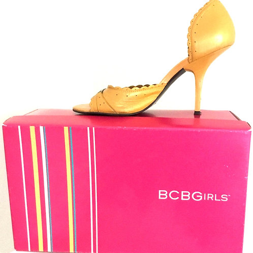BCBGirls Open Toe Pumps size 7