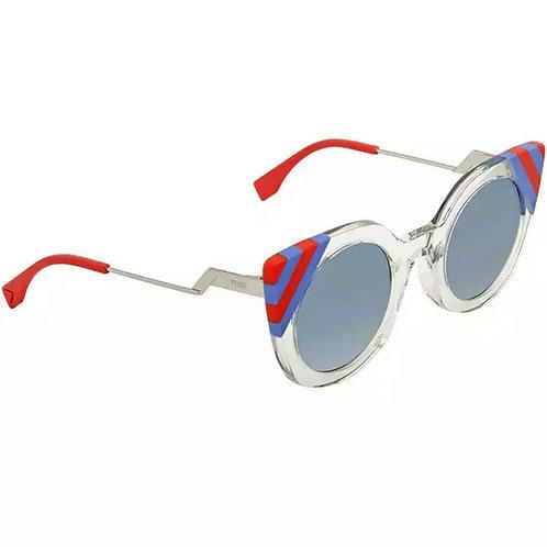 Fendi Blue Gradient Cat Eye Sunglasses FF