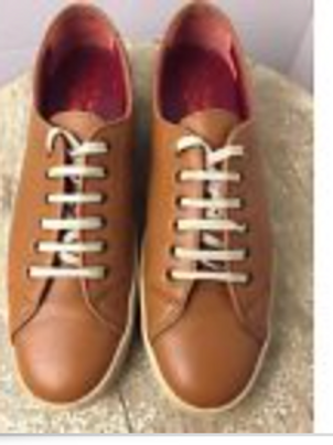 SALVATORE FERRAGAMO Women's Brown Tan Sneakers Shoes Oxfords