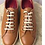 Thumbnail: SALVATORE FERRAGAMO Women's Brown Tan Sneakers Shoes Oxfords