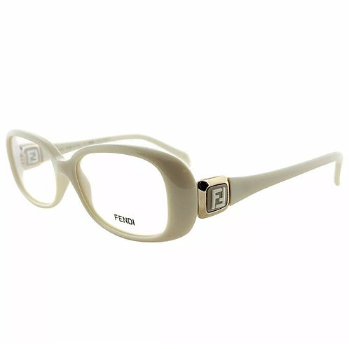 Fendi white optical glasses