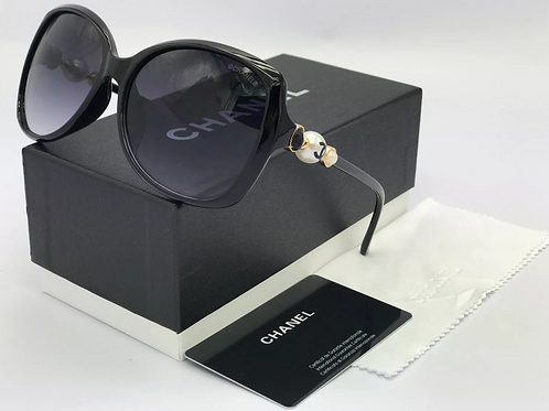 Chanel Oversized Logo Sunglasses