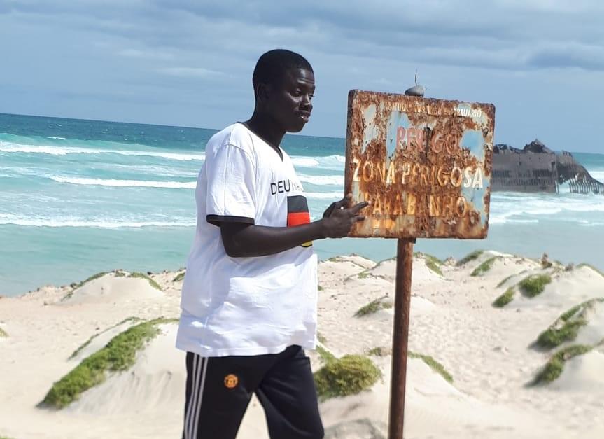 Jusqu'à l'épave de Cabo Santa Maria