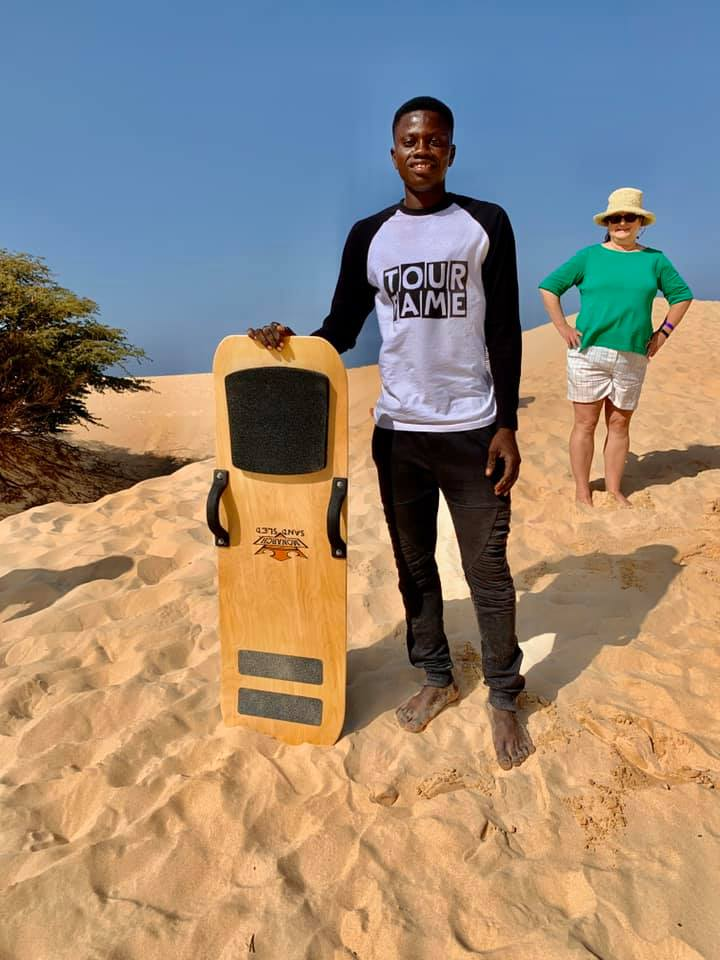 sandsleds