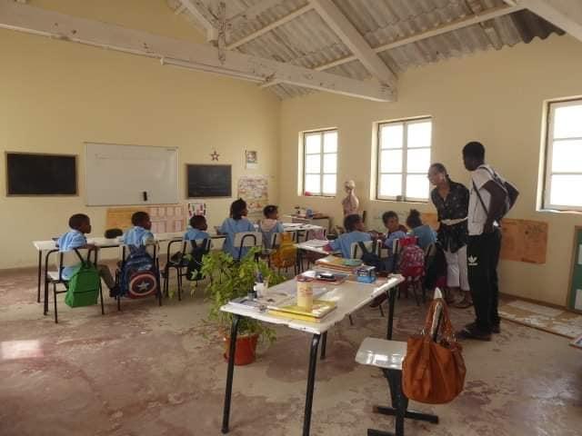 visite des écoles à Povacao