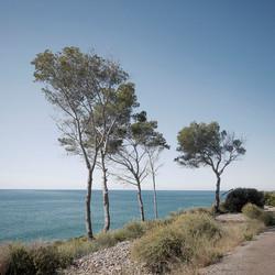 Vía verde : Playa de la Renegá.