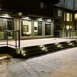 Deck during Winter