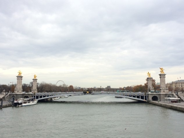 Paris- Pont Alexander III Bridge