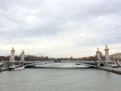 Paris- Pont Alexander III Bridge