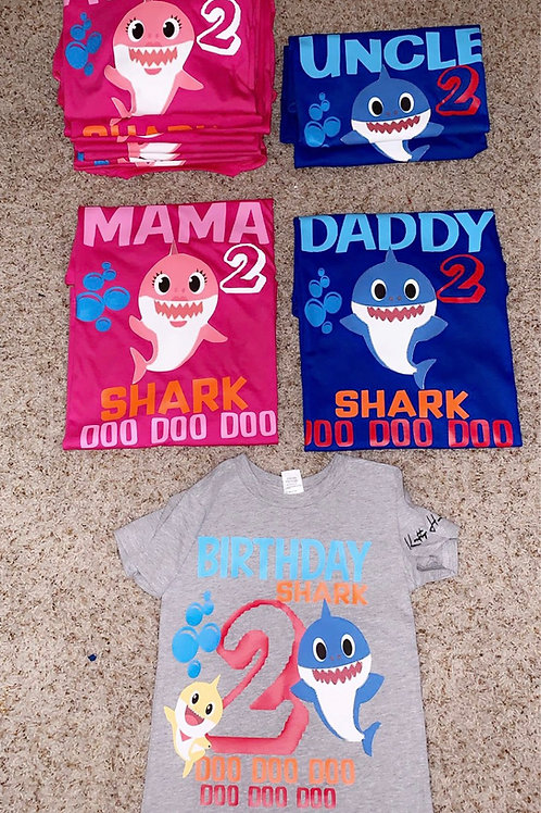 Party Themed Family Shirts