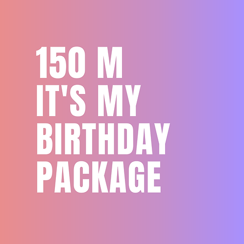 It's My Birthday Package