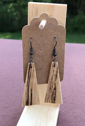 Trapezoid Wooden Earrings
