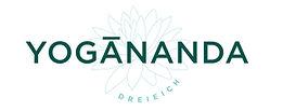 Das Bild zeigt das Logo von YOGĀNANDA Dreieich mit einer Lotosblume