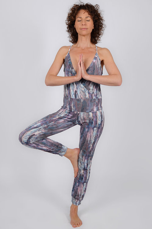 Jumpsuit STAR feather