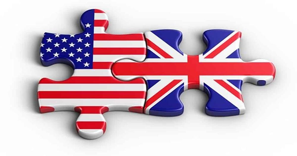 americano e britanico