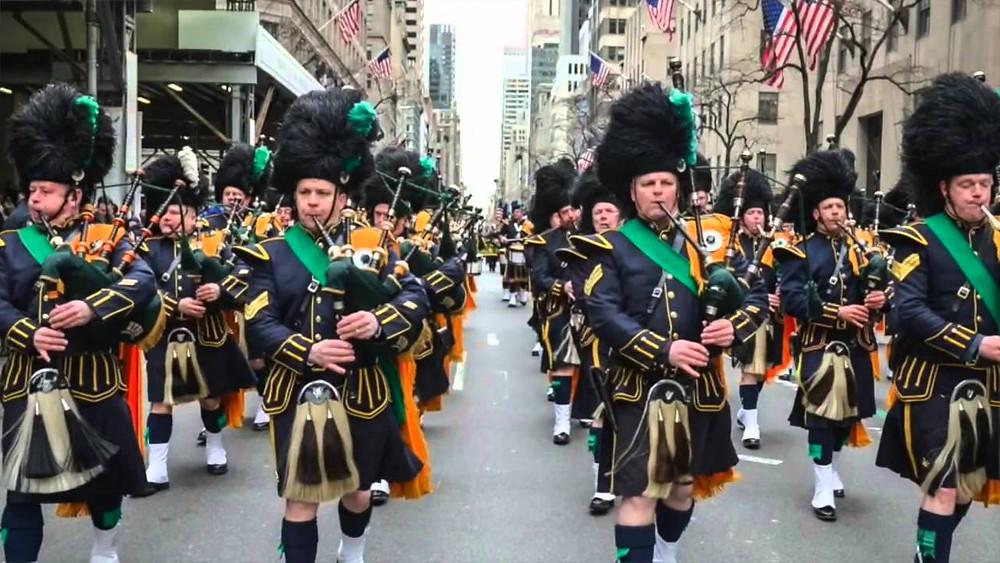 St. Patrick Parade in NY