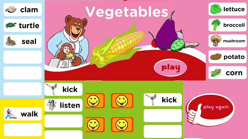 aulas de ingles para crianças