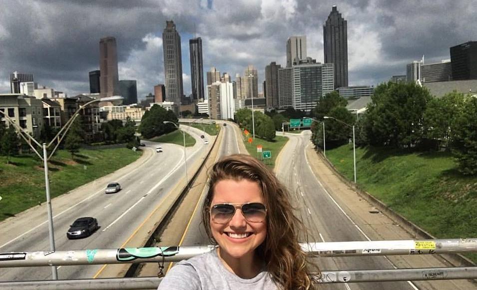 Sofia Pretzel em Atlanta no Estados Unidos
