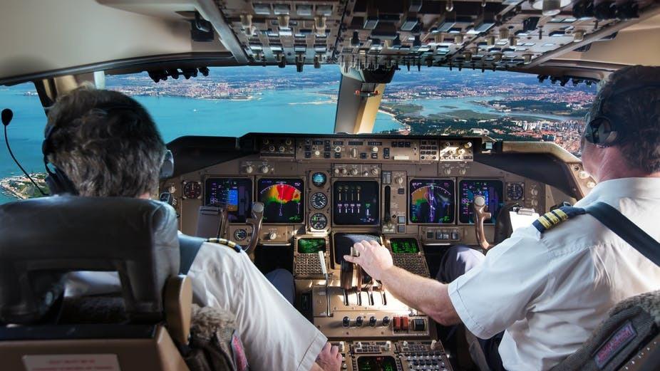 pilotos de avião