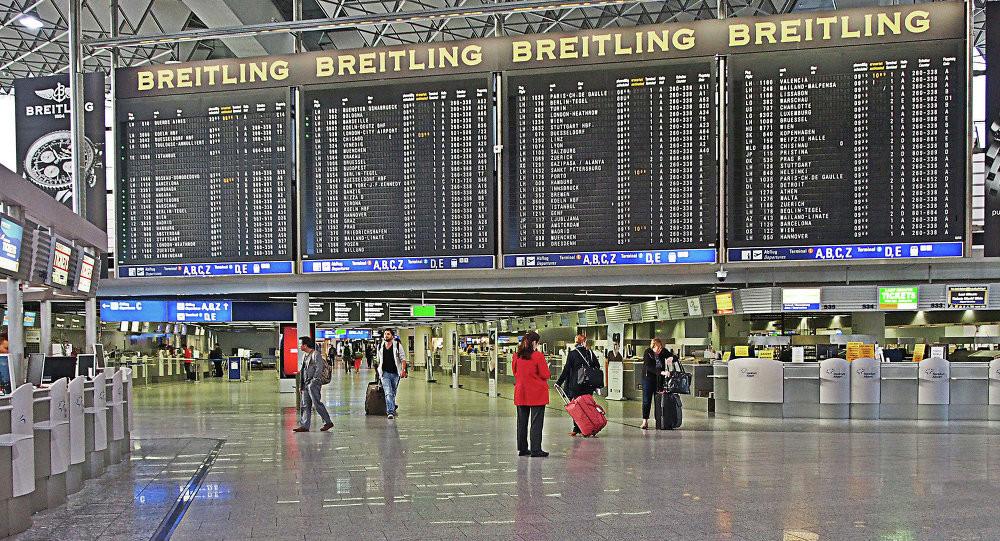 alemão aeroporto