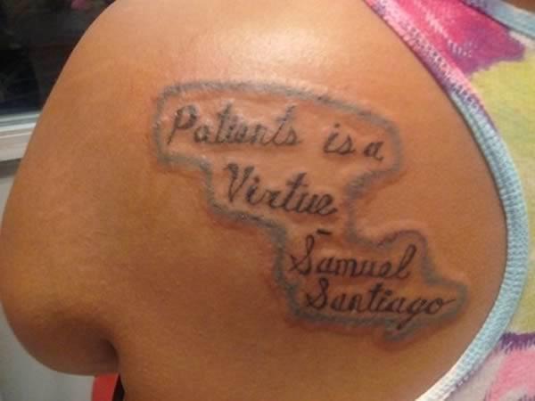 tatuagem em inglês