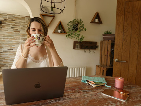 Still working from home? Here are Ouma's top tips for WFH success.