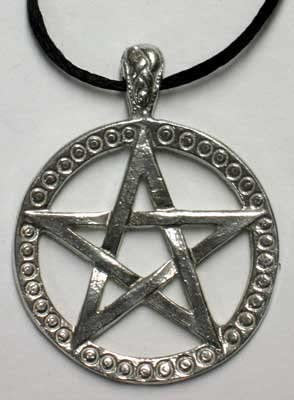 Upright Pentagram Necklace