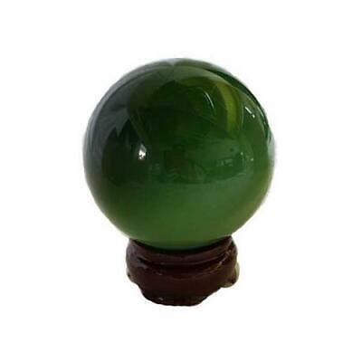Green Cats-Eye Crystal Ball