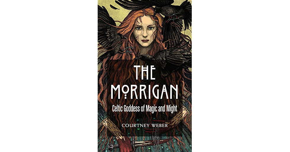 The Morrigan Celtic Goddess of Magick& Might