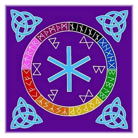 Rune Mother Altar Cloth
