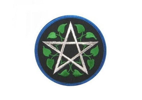 Leafy Pentagram Patch