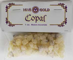 1618 Gold Granular Copal Incense