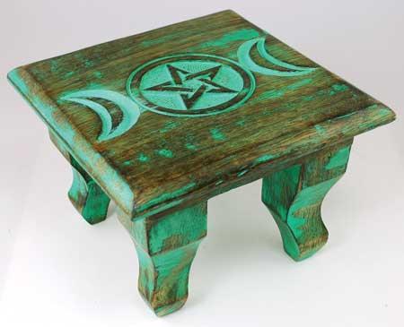 Triple Moon Altar Table