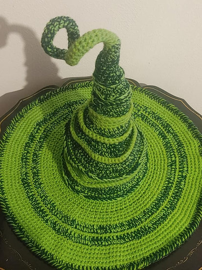 Green Witches Hat