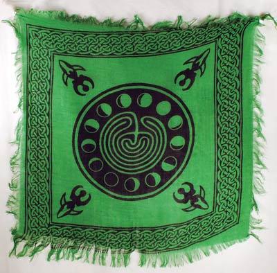 Moon Phase Altar Cloth