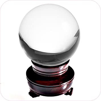 Clear Gazing Ball