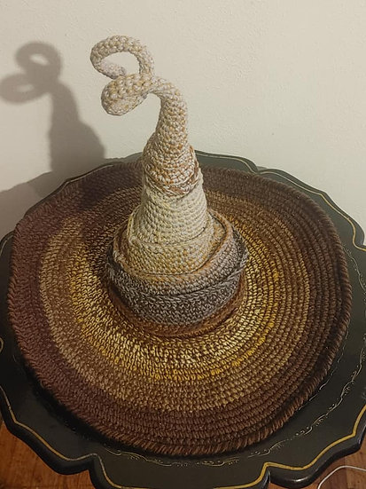 Brown Witch Hat