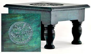 Greenman Altar Table