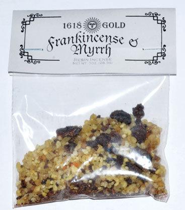 1618 Gold Granules Frankincense & Myrrh Incense