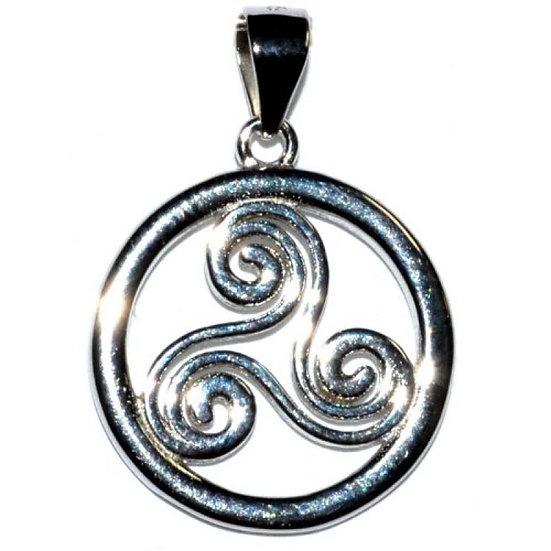 "5/8"" Trinity Spiral Pendant"