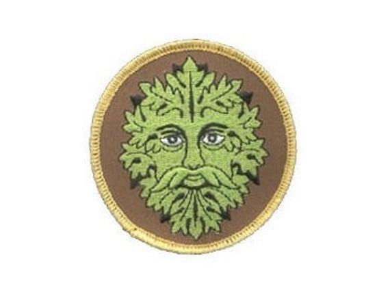 Green Man Patch