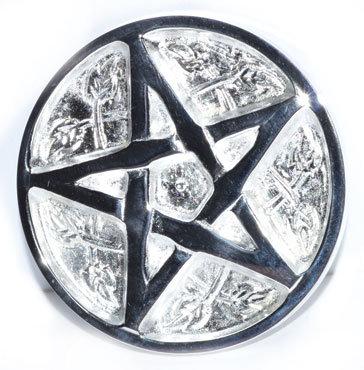 Woodland Pentagram Altar Tile