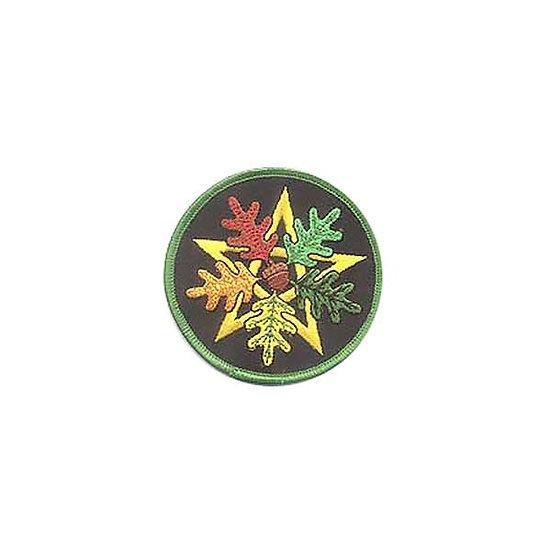 Oak Leaf Pentagram Patch