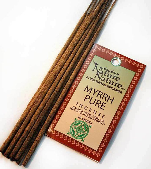 Nature Nature Myrrh Incense Sticks