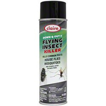 CLAIRE DOWN & OUT - Flying Insect Killer